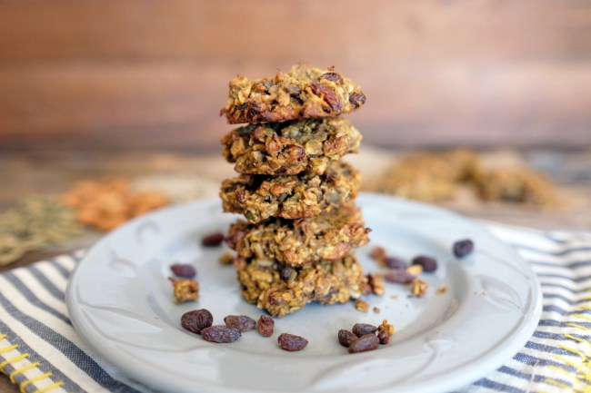Pumpkin Granola Cookies Recipe