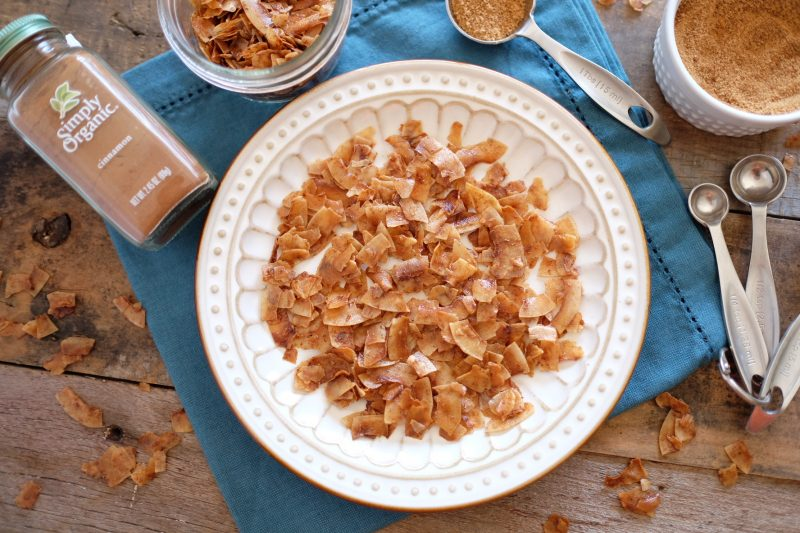 Salty & Sweet Coconut Chips Recipe