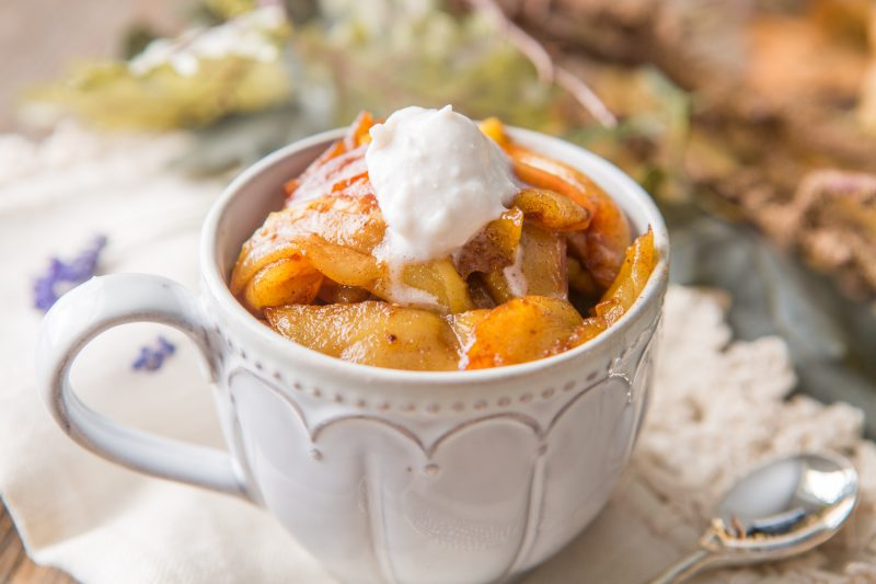 15 Minute Skillet Apple Pie Recipe