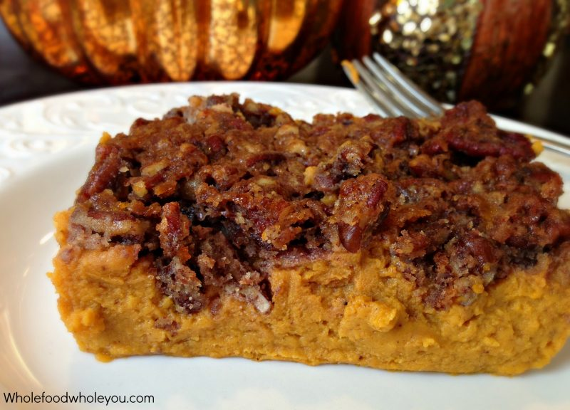 Paleo Thanksgiving Sweet Potato Casserole Recipe