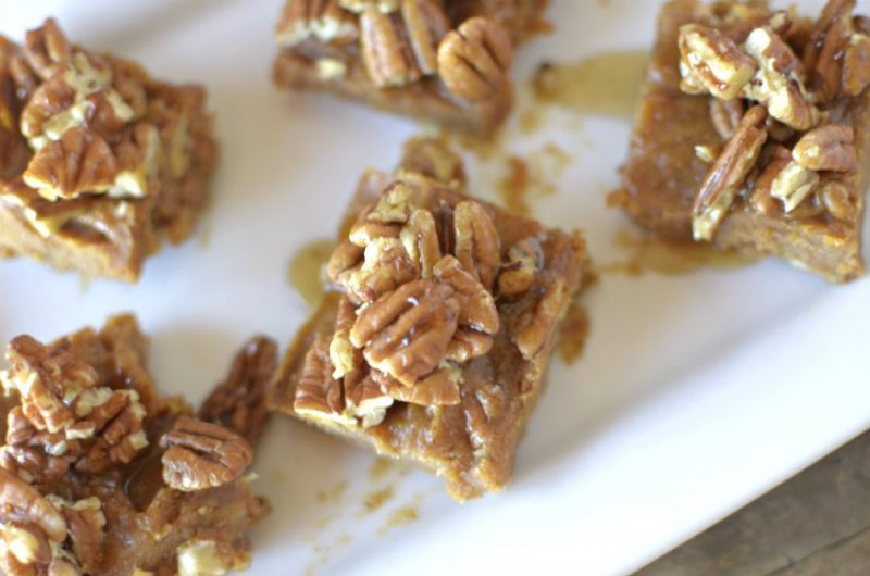 Pumpkin Spice Sticky Bun Fudge Recipe