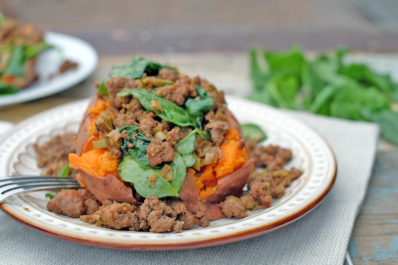 Stuffed Sweet Potatoes Recipe