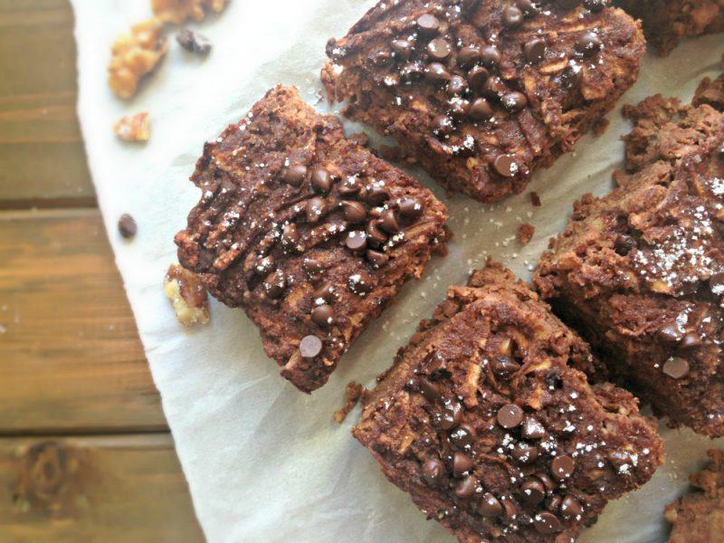 Chocolate Apple Walnut Cake Recipe
