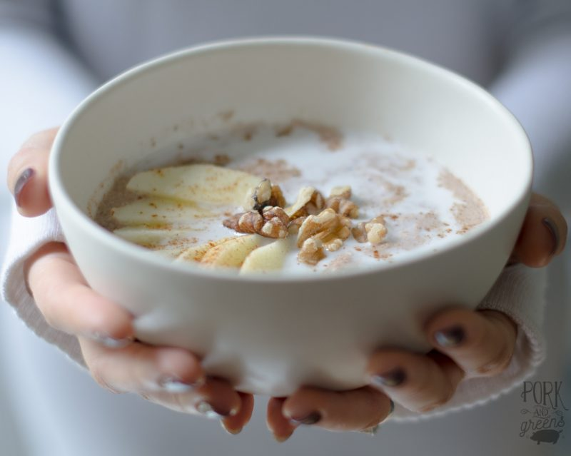 Spiced Apple Porridge Recipe