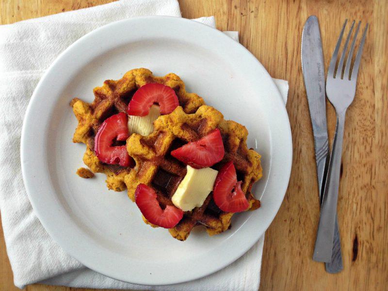 Gluten-Free Pumpkin Waffles Recipe