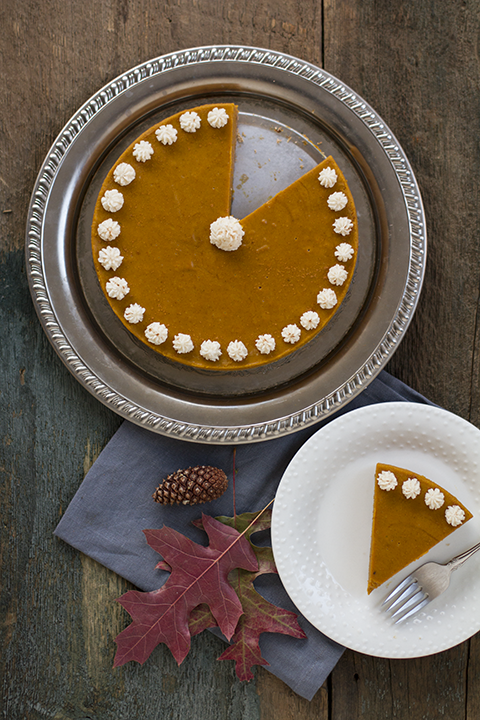 Autoimmune-Friendly Pumpkin Spice Cake w/ Gingersnap Crust Recipe
