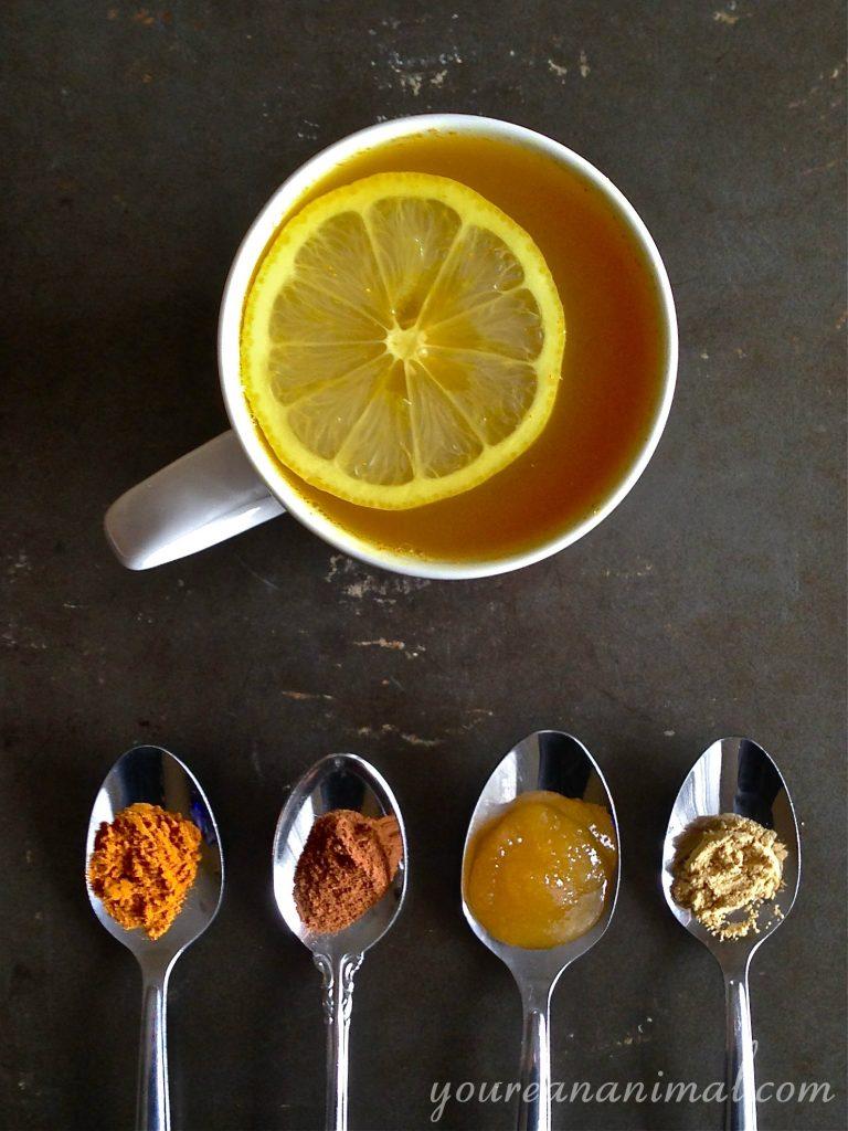 Anti-Inflammatory Turmeric Tea Recipe