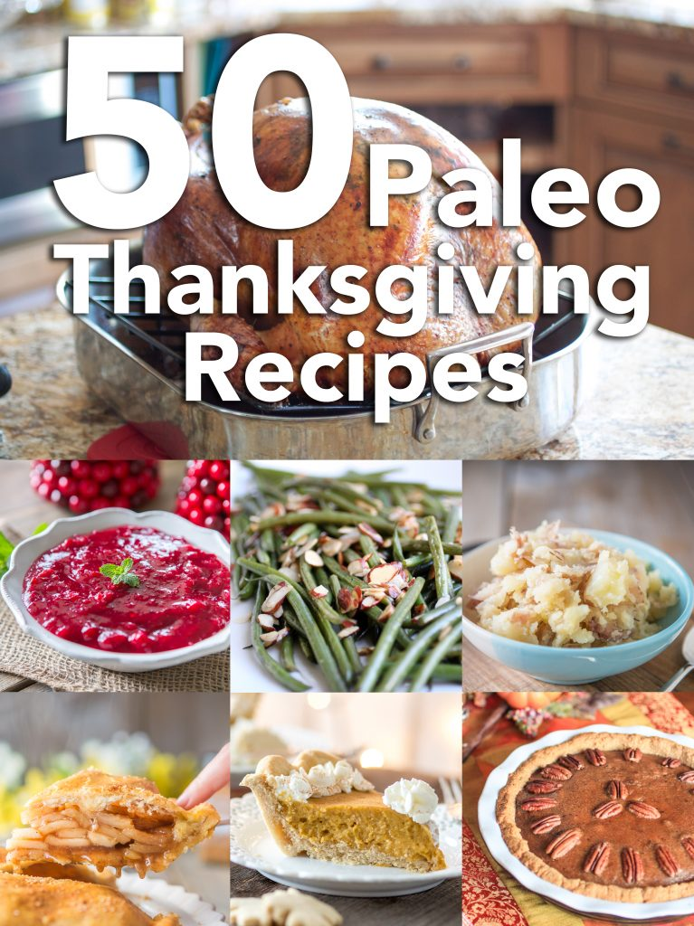 50 Thanksgiving Paleo Recipes