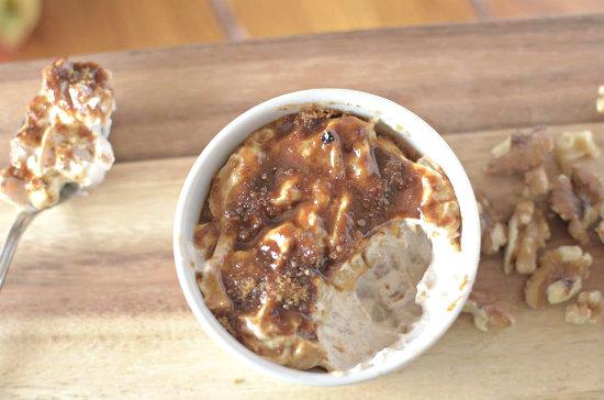 Apple Pie Yogurt Brûlée Recipe