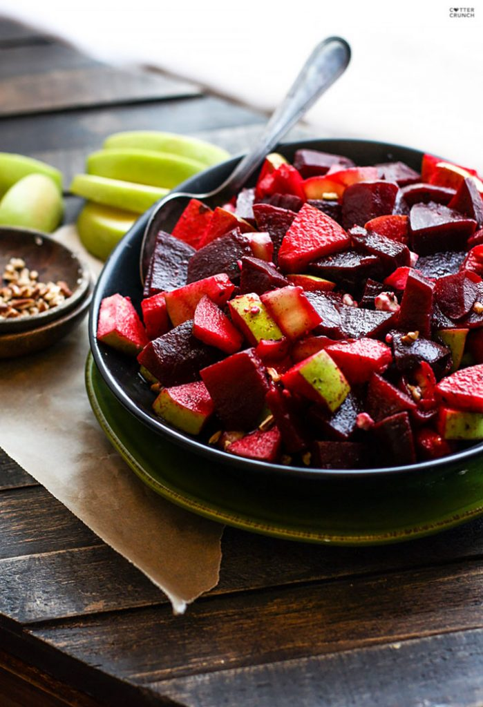 Marinated Beet and Apple Salad with Banana Peppers Recipe
