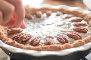 Paleo-friendly Pecan Pie  |  Plus get a FREE jar of Paleo Mayo from Thrive!