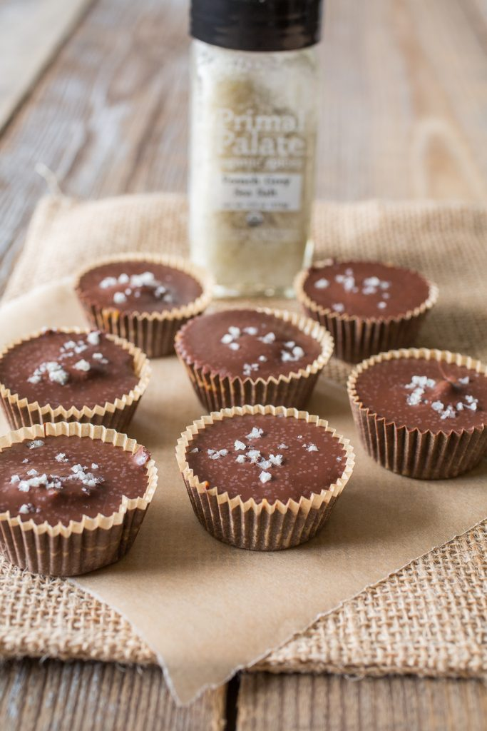 Salted Caramel Cups Recipe