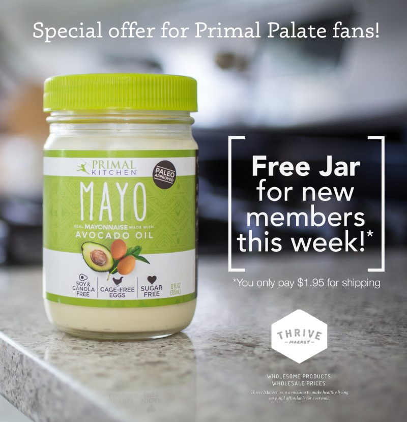 Primal Kitchen Mayo- promo