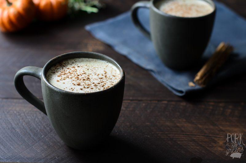 Pumpkin Spice Matcha Latte Recipe