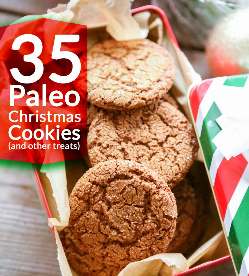 35 Paleo Christmas Cookie Recipes (and other treats!) - Primal ...