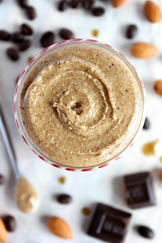 Vanilla-Espresso Almond Butter Recipe