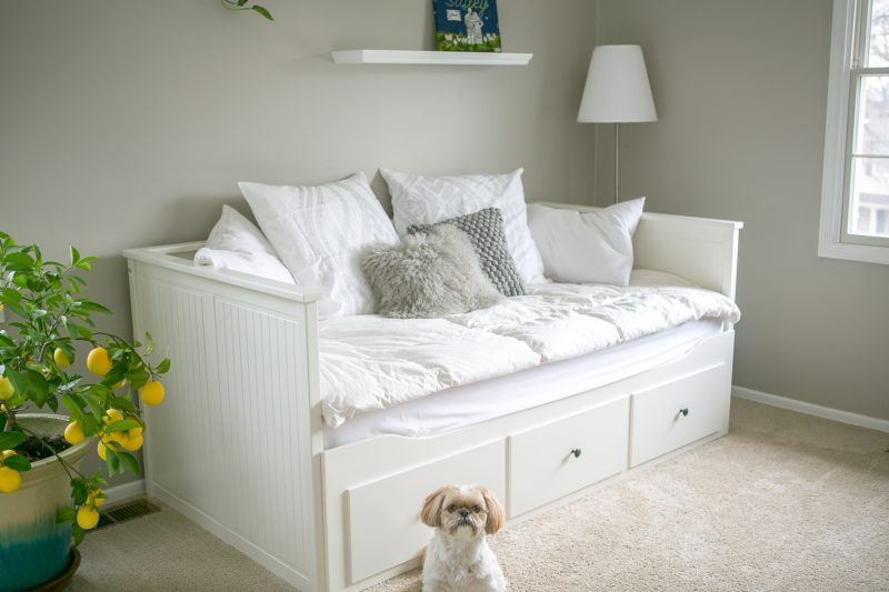 Ikea Hemnes Day Bed White