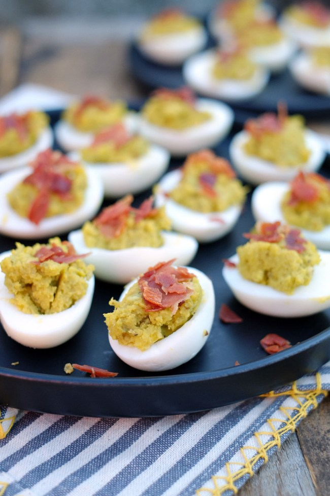 Mayo Free Deviled Eggs Recipe