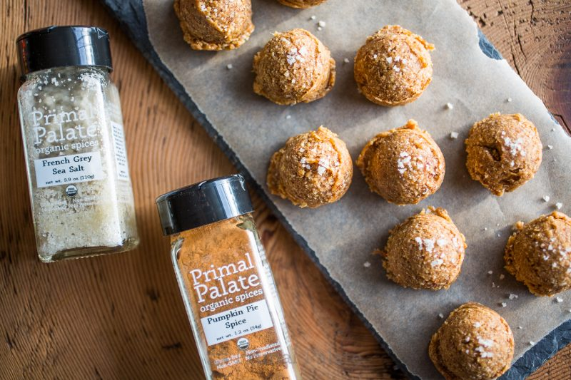 Paleo Pumpkin Spice Snack Bites-6