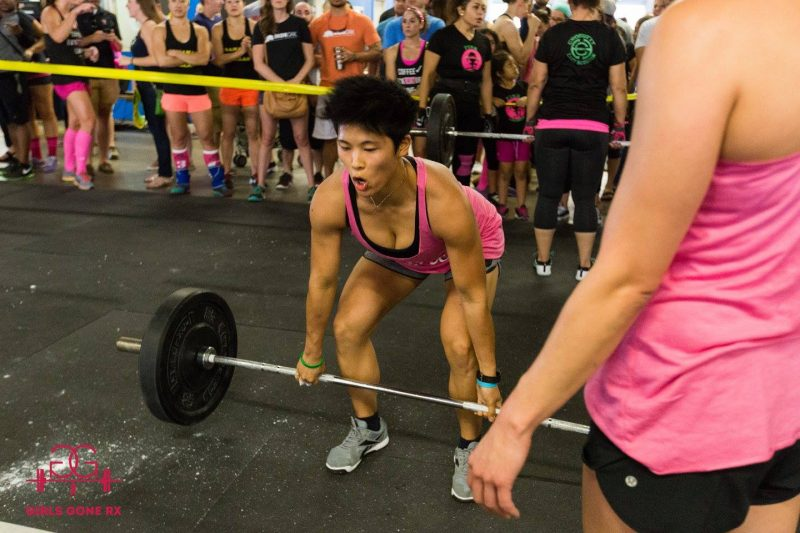 Grace CrossFit competition