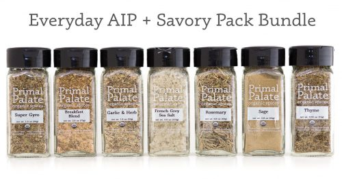 Everyday AIP Savory Pack Bundle