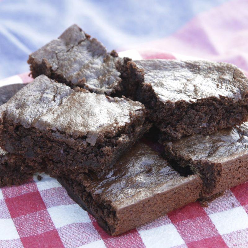 Dark Chocolate Mint Brownies Recipe