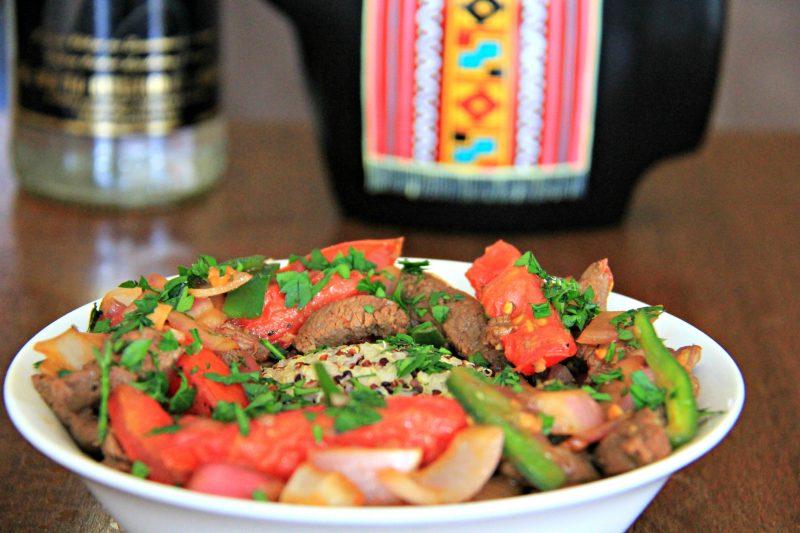 Lomo Saltado (Peruvian Stir Fry) Recipe
