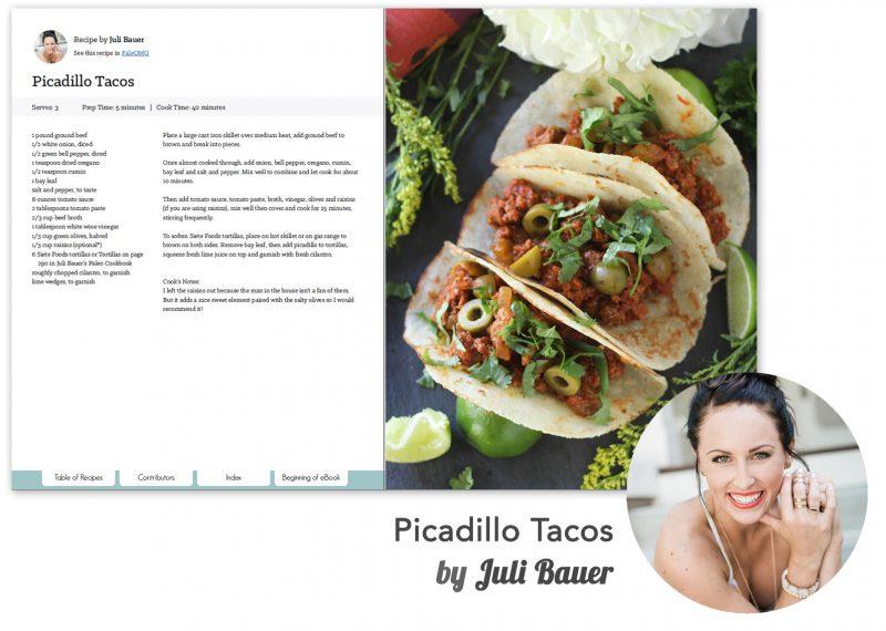 Recipe -Juli Bauer