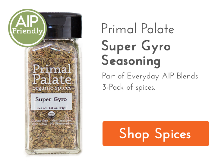 Super Gyro Seasoning Ad
