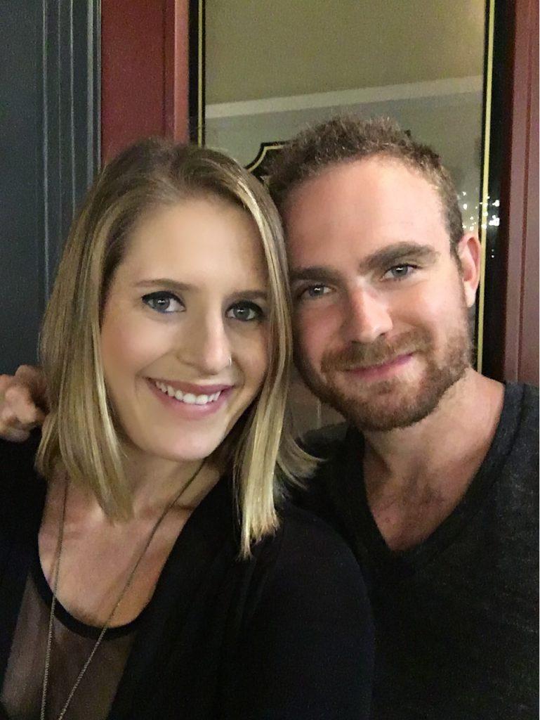 CHrissy and her boyfriend