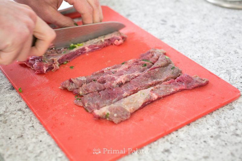Cilantro Lime Skirt Steak Recipe
