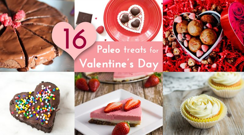 Paleo Treats for Valentine's Day