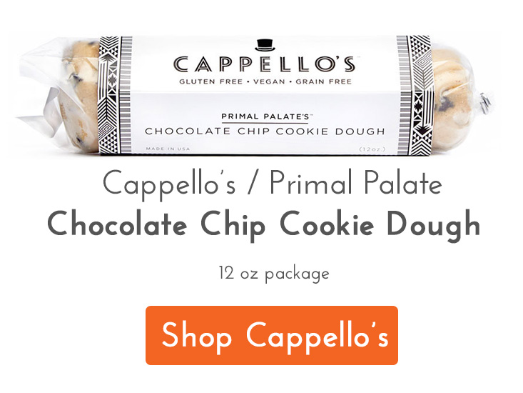 Cappellos Primal Palate Cookie Dough