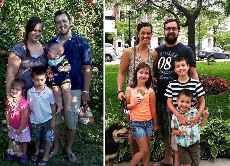 Jennifer before and after Paleo 2