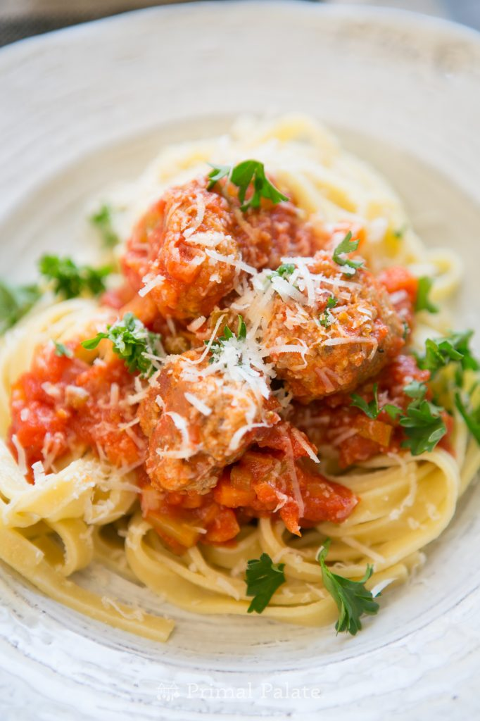 Meatballs with Cappellos Fettuccine-17
