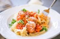 Meatballs with Cappellos Fettuccine-21