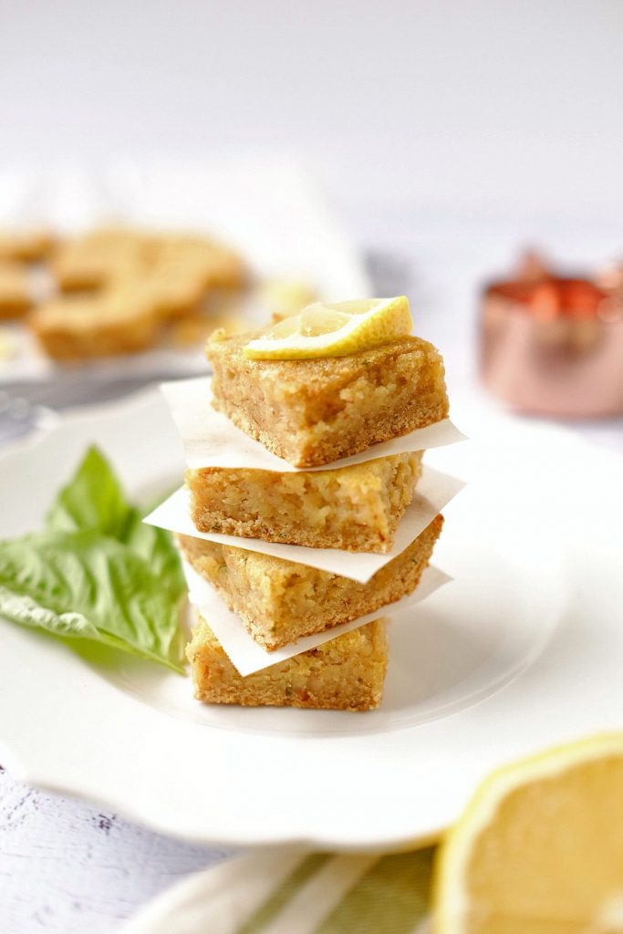 Paleo Lemon Bars Recipe