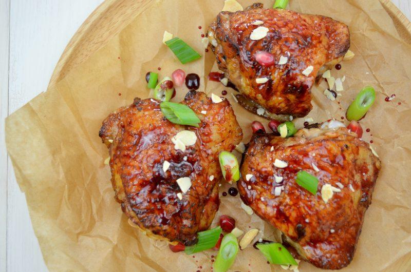 Pomegranate Glazed Chicken Recipe