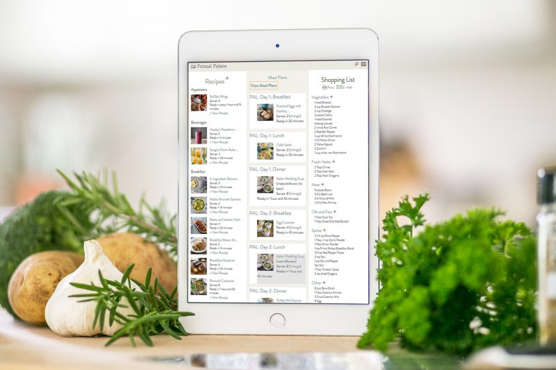myKitchen Meal Planner iPad Pic wide copy