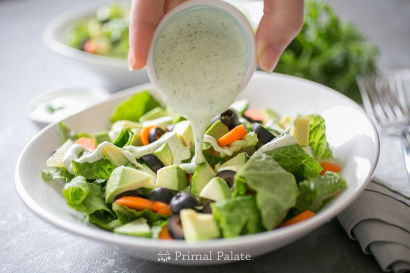 Dairy Free Ranch Dressing Recipe - Paleo-15