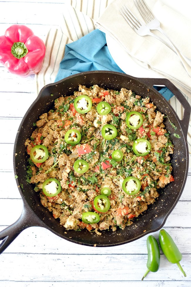 Dirty Cauliflower Rice Recipe