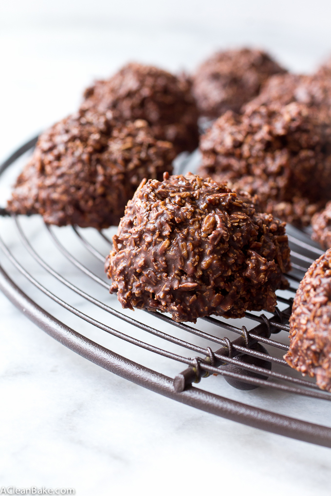 No-Bake Chocolate Macaroons Recipe