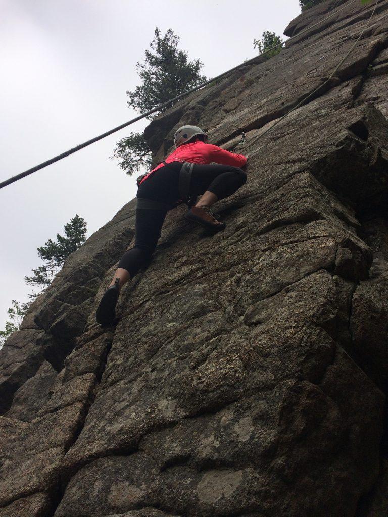 Well Belly Rock climbing