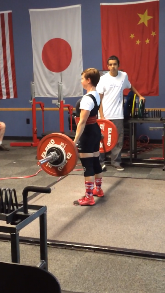 Powerlifting on AIP
