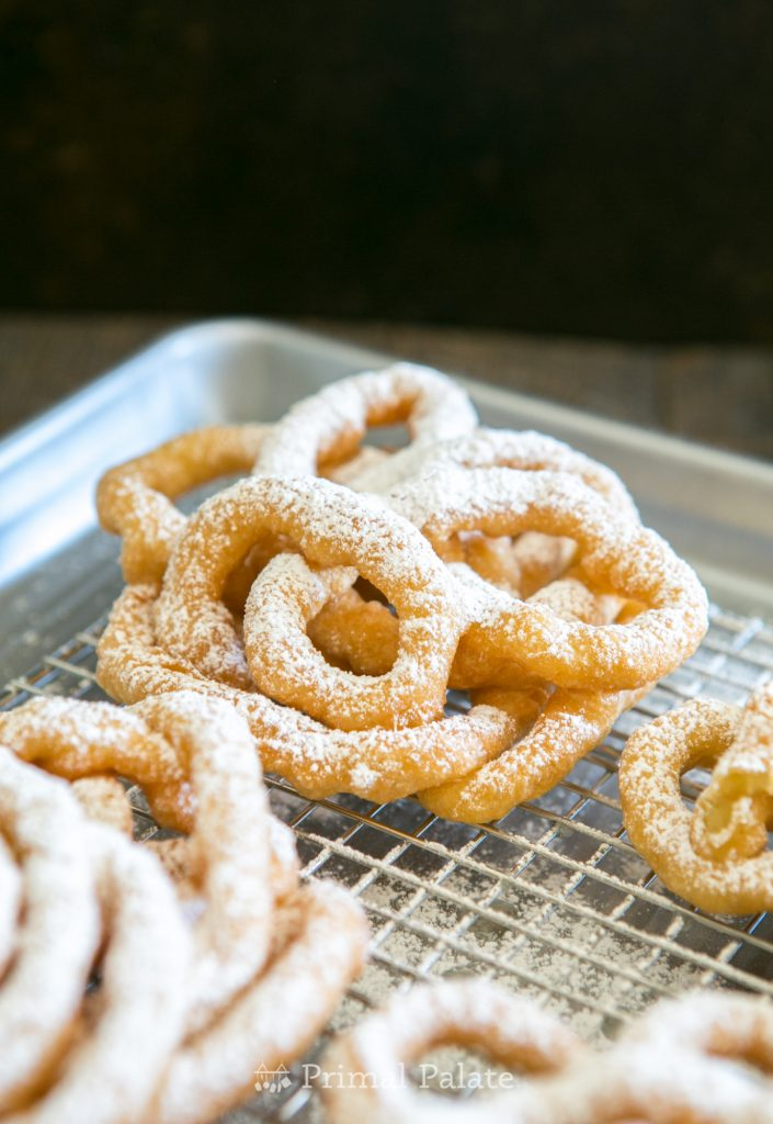 Gluten-free Boardwalk Funnel Cakes Recipe