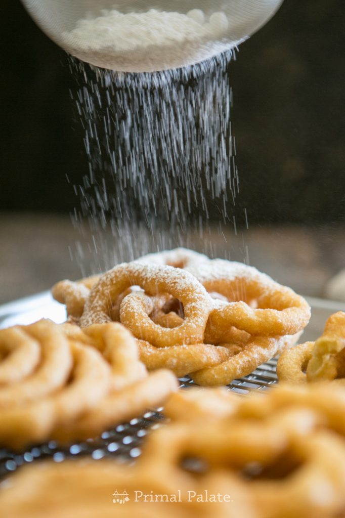 Paleo Funnel Cakes - Gluten Free Funnel Cakes-10
