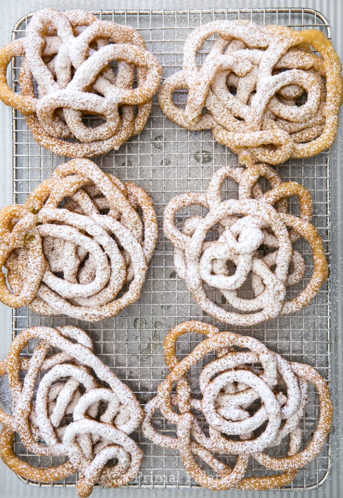 Paleo Funnel Cakes - Gluten Free Funnel Cakes-11