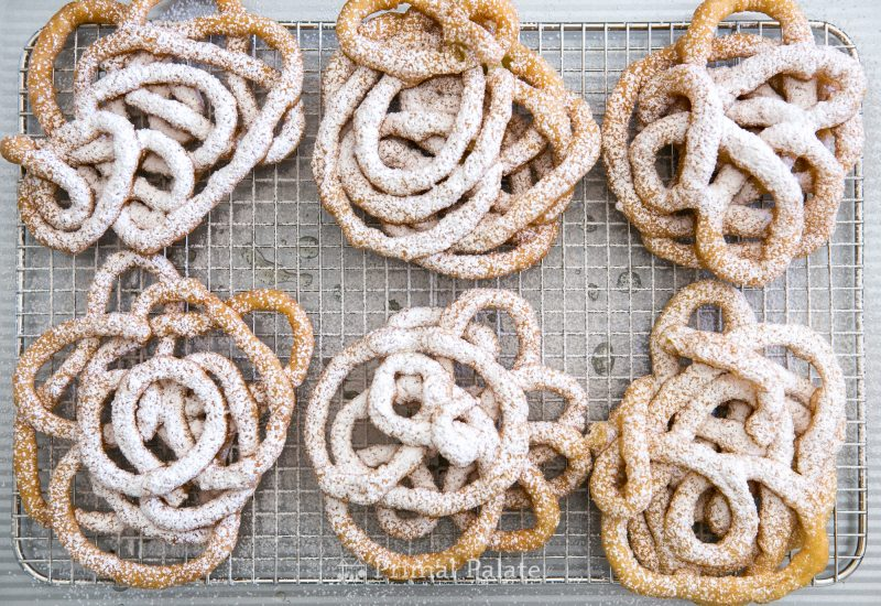 Paleo Funnel Cakes - Gluten Free Funnel Cakes-12