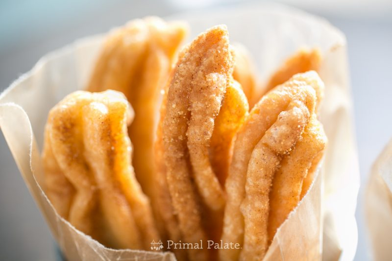 Cinnamon Sugar Churros (Paleo friendly) Recipe