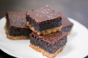 Grain-free Chocolate Chip Cookie Brownies